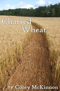 "Cover for ""Charred Wheat"" short story"